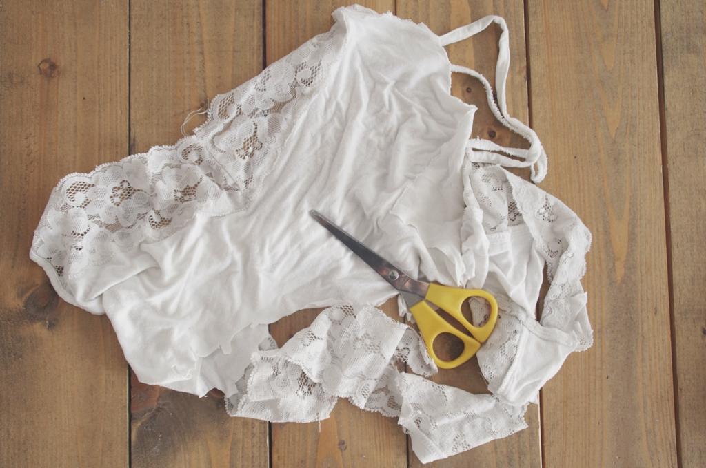 Städar med gamla kläder